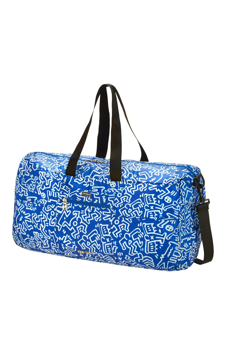 Keith Haring Foldaway Duffle
