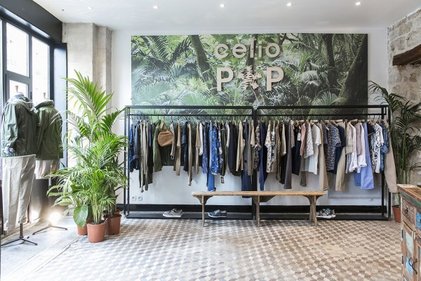 celio pop up 25 rue de Charonne