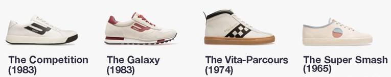 Bally – retro sneakers