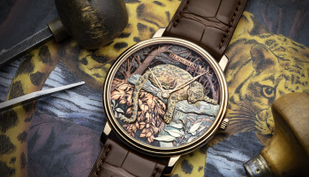 blakemag_magazine_lifestyle_blancpain_Métiers d'Art_Formosa clouded leopard